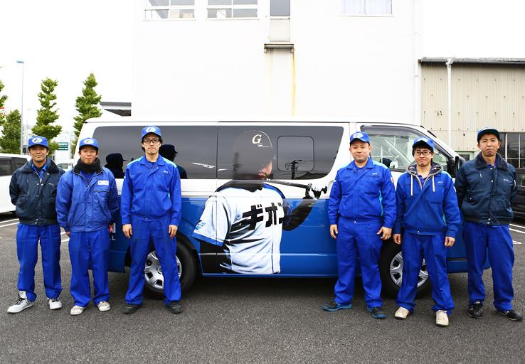 ギオン野球部ラッピングカー14