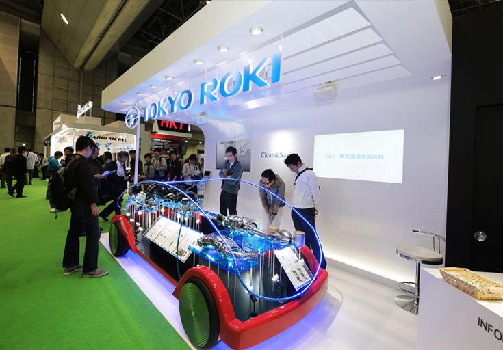東京モーターショー2017東京濾器ブース