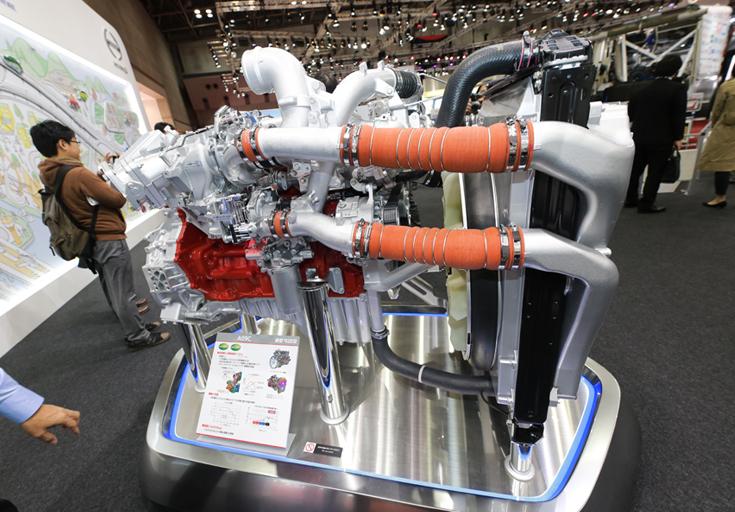 日野自動車A09Cエンジン
