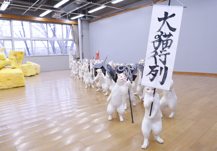 大猫行列(杉山愛莉)第二回ギオン相模原大賞01